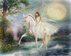 Unicorn Magic Art Print by Trudi Simmonds - X-Small Unicorn And Fairies, Real Unicorn, Unicorns And Mermaids, Unicorn Art, Magical Unicorn, Beautiful Unicorn, Beautiful Fantasy Art, Unicorn Pictures, Magic Art
