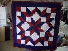 Carpenter Star Quilt--attending a class to make a modified pattern of this with more colors and borders!  Two weeks, and I can't wait!!