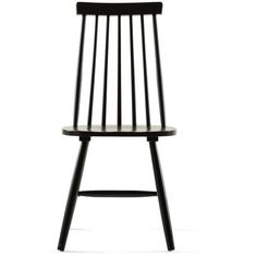 AMY Dining chair ❤ liked on Polyvore featuring home, furniture, chairs, dining chairs, black and white dining chairs, black white chair, black and white furniture, black and white chair and lacquer furniture