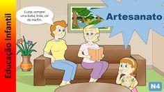 Educação Infantil - Nível 4 (crianças entre 7 a 9 anos): Artesanato