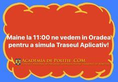 Tag pe cineva din Bihor! Detalii pe Academiadepolitie.com (sectiunea Evenimente Locale)  Academiadepolitie.com - Pregatire Intensiva Examen Admitere #academiadepolitie si #scoaladepolitie
