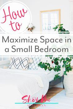 I needed some tips and ideas for how to save space in my small bedroom. This article gave me so much info on tiny bedroom storage and organization hacks! It really helped me maximize the space in my room. #organization #organizinghacks