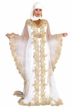 Robe orientale caftan mariage robe dubai jilbab robes for Quand les robes de mariage seront elles en vente