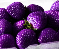 Purple? Strawberries! weheartit.com