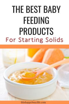 Introducing solids to your baby is an exciting, messy and slightly terrifying process. To make your life easier I've compiled a list of the best baby feeding products I've used when introducing solids to my kids. Introducing Baby Food, Baby Led Weaning First Foods, Baby Food Recipes, Healthy Recipes, Baby Food By Age, Starting Solids, Solids For Baby, Health And Wellness Quotes, Kids Health