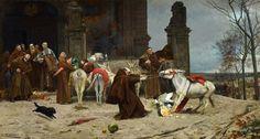 EDUARDO ZAMACOIS Y ZABALA - Regreso al Convento (Museo Carmen Thyssen, Málaga, 1868. Óleo sobre lienzo, 54.5 x 100.5 cm) - Eduardo Zamacois y Zabala - Wikipedia, the free encyclopedia