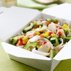 Sesame Cucumber Pepper Salad with Alaska Surimi Seafood - See more at: http://www.wildalaskaflavor.com/single-recipe/?id=269#sthash.8Qg6Wuad.dpuf