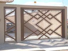 Iron Gate Design, House Gate Design, Metal Gates, Iron Gates, Gate Designs Modern, Metal Garage Doors, Metal Sculpture Artists, Tor Design, Window Grill Design
