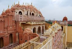 """Hawa mahal """"Palace of Winds"""" is a most historical monument in Jaipur city."""