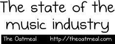 La evolución de la industria musical según los chicos de The Oatmeal.