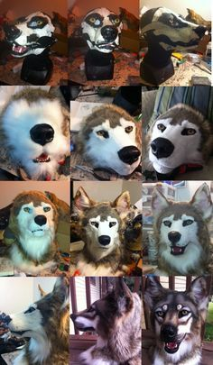 Love this idea! Though alas i would not be avle to do this with my dog. Teeth Progression by Sharpe19
