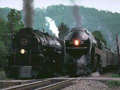 Last of the steam locomotives