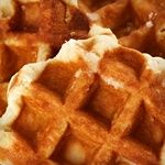 Belgian Waffles  (Website says ok in Phase 1?!?)Ingredients:                          1 cup soy flour  2 tablespoons granular sugar substitute  1 tablespoon baking powder  ½ teaspoon salt  ¼ cup heavy cream  3 large eggs  1 tablespoon sugar-free vanilla syrup  ¼ cup ice water  Vegetable oil spray to grease waffle iron