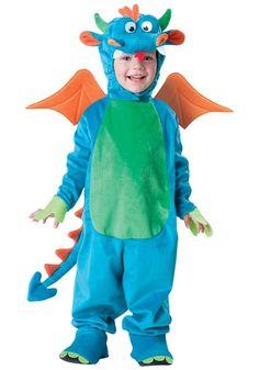 Toddler Dinky Dragon Costume - Child Dragon, Dinosaur Costume Ideas