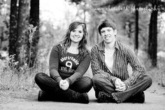 Brother and sister and so fun to photograph.