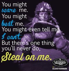 Softball Sayings For Catchers Catcher quotes - Carolin Softball Catcher Quotes, Softball Memes, Baseball Quotes, Baseball Boys, Softball Players, Girls Softball, Fastpitch Softball, Softball Stuff, Softball Sayings