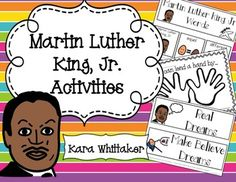 Martin Luther King Activities for Autism and Special Education: Help your students understand the importance of MLK's life and work using hands-on and developmentally appropriate activities!
