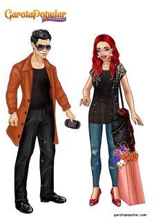 #GarotaPopular Em clima de romance, comprando flores juntinhos.