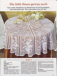 crochet camera Large round tablecloth with roses Crochet Tablecloth Pattern, Crochet Bedspread, Crochet Doily Patterns, Crochet Motif, Crochet Doilies, Crochet Flowers, Crochet Lace, Filet Crochet, Crochet Round