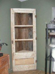 Old Doors Repurposed | Creative idea to repurpose an old door | Doors and windows by wendy blye
