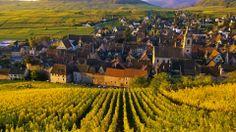 Riquewihr, Wine Village in Northeast France