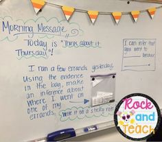 Great mini-lesson idea for teaching inferences!