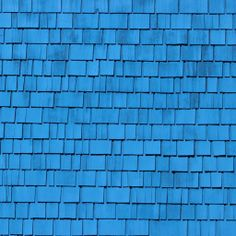 Blue Roof Shingles #iPad #Wallpaper HD