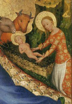 The quadriptych of Mayer van den Bergh / Walters Art Gallery, c. 1380.
