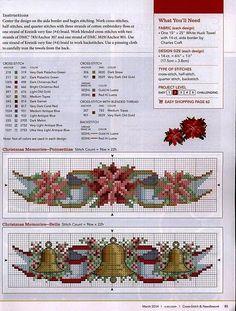 """Милые сердцу штучки: Вышивка крестом: """"Пуансетия - цветок Рождества"""" (коллекция схем)"""