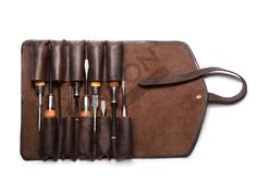 leather chisel rolls - Google Search