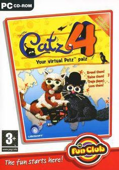 Catz 4 Box Shot Children Learning Activity PC DVD Game Software