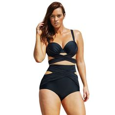 $29.18 (Buy here: https://alitems.com/g/1e8d114494ebda23ff8b16525dc3e8/?i=5&ulp=https%3A%2F%2Fwww.aliexpress.com%2Fitem%2FNew-high-waist-swimsuit-Sexy-halter-string-strappy-bikini-2016-swimwear-women-cutout-bathing-suit-Biquini%2F32698721549.html ) New high waist swimsuit Sexy halter string strappy bikini 2016 swimwear women cutout bathing suit Biquini maillot de bain V190B for just $29.18