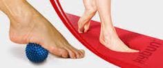 Pallina propriocettiva e tappeto propriocettivo