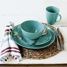 Over & Back Summit Lake 16-piece Dinnerware Set