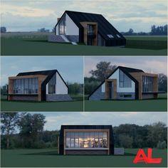 Nieuwe opdracht | Een nieuw te bouwen woning langs de IJssel in Zwolle. ---------- #NieuwbouwwoningZwolle #Dijkwoning #Zwolle