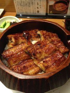 Hitsumabushi, Grilled Unagi Eel on Rice   Nagoya, Japan ひつまぶし