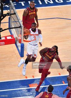 News Photo : Tim Hardaway Jr. #3 of the New York Knicks goes...