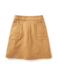 Julia Patch Pocket Skirt