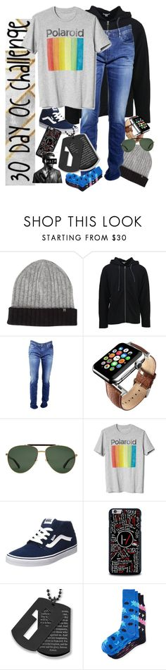 """30 Day OC challenge: Day nine"" by wibbly-wobbly-timey-wimey-dork on Polyvore featuring Haggar, James Perse, STONE ISLAND, Gucci, Gap, Vans, West Coast Jewelry, Per Pedes, men's fashion and menswear"