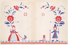Einar Nerman, Fairy Tales from the North, 1946 by 50 Watts, via Flickr