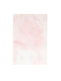 """Watercolor pink flowers notecard. Made by hand at Aquarelle Maison. 4.7"""" x 7"""""""