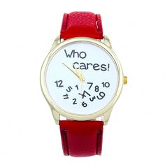 Who Cares Anyway Watch