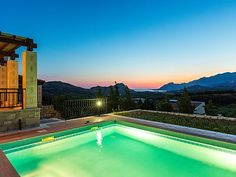 Private pool, amazing sea views, walking distance to shops! Private Pool, Thalia, Swimming Pools, Villa, Sea, Park, Country, Building, Outdoor Decor