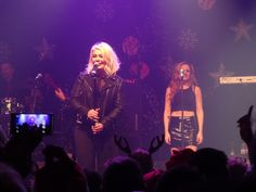 Kim Wilde performs at the Kim Wilde Christmas Party live at the Coronet in London (18-12-15) Photo © Daniel Porter 2015.  All rights reserved. @MrDanielPorter www.MrDanielPorter.com #KimWilde #ScarlettWilde