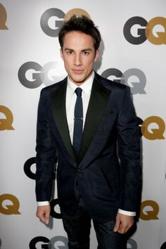 #TVD Michael Trevino poses on arrival for the GQ Men of the Year Party at Chateau Marmont
