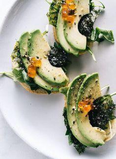 Fancy avocado toast
