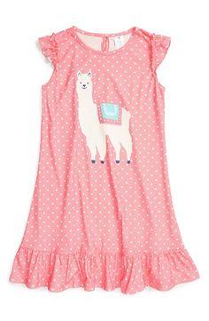 Tucker + Tate Ruffle Nightgown (Little Girls & Big Girls) Girls Sleepwear, Girls Pajamas, Kids Wear, Children Wear, Tucker Tate, Kids Fashion, Womens Fashion, Night Gown, Size Clothing
