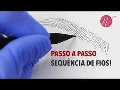 Sequência de FIOS REALISTAS passo a passo! - Microblading e Micropigmentação   #SérieFioaFio - YouTube