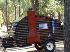 teardrop trailers | Found on carolscraftblog.blogspot.ca