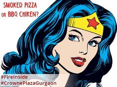 Have you ever wondered, what's #WonderWoman always wondering about? #BringingBackTheClassics #FireInside #CrownePlazaGurgaon